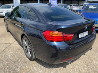 2014 BMW 4 Series F36 435i Gran Coupe Carbon Black Metallic 8 Speed Sports Automatic Hatchback.