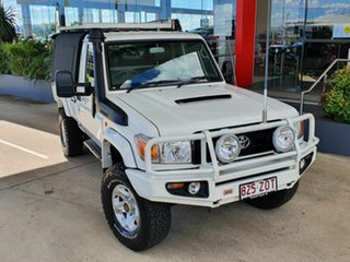 2011 Toyota Landcruiser GX White 5 Speed Manual Utility