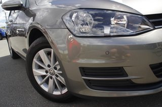 2017 Volkswagen Golf VII MY17 92TSI Trendline Limestone Grey 6 Speed Manual Hatchback.