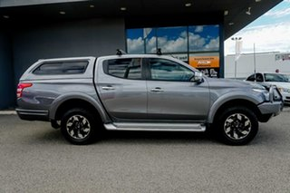 2017 Mitsubishi Triton MQ MY17 Exceed Double Cab Grey 5 Speed Sports Automatic Utility.