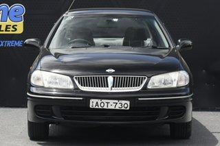 2003 Nissan Pulsar N16 S2 MY2003 Q Black 5 Speed Manual Hatchback.