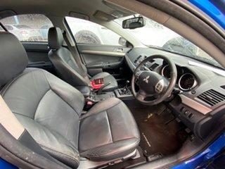 2011 Mitsubishi Lancer CJ MY11 ES Blue 5 Speed Manual Sedan