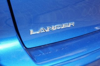 2012 Mitsubishi Lancer CJ MY12 Activ Blue 5 Speed Manual Sedan