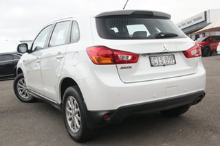 2012 Mitsubishi ASX XA MY12 2WD White 6 Speed Constant Variable Wagon.