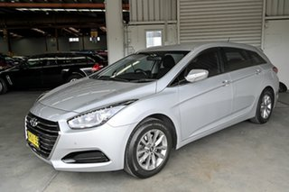 2017 Hyundai i40 VF4 Series II Active Tourer D-CT Silver 7 Speed Sports Automatic Dual Clutch Wagon
