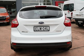 2014 Ford Focus LW MK2 MY14 Trend White 6 Speed Automatic Hatchback