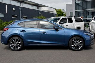 2017 Mazda 3 BN5438 SP25 SKYACTIV-Drive Astina Blue 6 Speed Sports Automatic Hatchback.