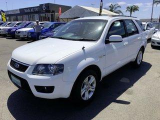 2011 Ford Territory SY MkII TX (4x4) White 6 Speed Auto Seq Sportshift Wagon.