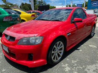 2010 Holden Ute VE MY10 SV6 Red 6 Speed Sports Automatic Utility.