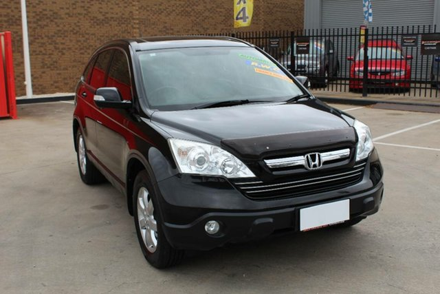 Used Honda CR-V MY07 (4x4) Luxury Hoppers Crossing, 2007 Honda CR-V MY07 (4x4) Luxury Black 5 Speed Automatic Wagon