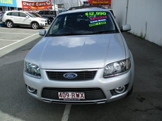 2011 Ford Territory TS Limited Silver 4 Speed Automatic Wagon