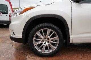 2014 Toyota Kluger GSU50R Grande (4x2) White 6 Speed Automatic Wagon.