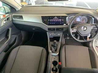 2020 Volkswagen Polo AW MY20 70TSI Trendline White 5 Speed Manual Hatchback
