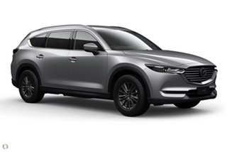 2020 Mazda CX-8 KG2WLA Touring SKYACTIV-Drive FWD Silver 6 Speed Sports Automatic Wagon