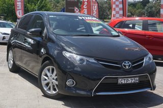2014 Toyota Corolla ZRE182R Ascent Sport S-CVT Black 7 Speed Constant Variable Hatchback.