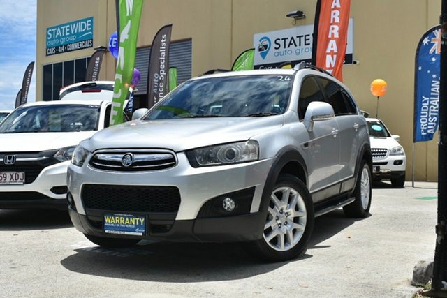 Used Holden Captiva CG Series II 7 CX (4x4) Capalaba, 2012 Holden Captiva CG Series II 7 CX (4x4) Silver 6 Speed Automatic Wagon