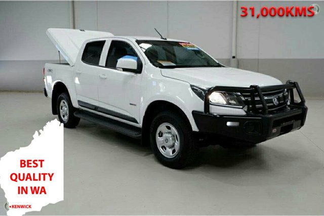Used Holden Colorado RG MY17 LS Pickup Crew Cab Kenwick, 2017 Holden Colorado RG MY17 LS Pickup Crew Cab White 6 Speed Sports Automatic Utility