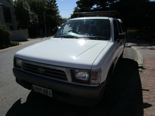 1998 Toyota Hilux RZN149R White 4 Speed Automatic Dual Cab Pick-up