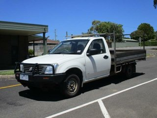 2004 Holden Rodeo RA DX 4x2 Alpine White 5 Speed Manual Cab Chassis.