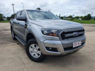 2016 Ford Ranger PX MkII XLS Double Cab Aluminium 6 Speed Manual Utility.