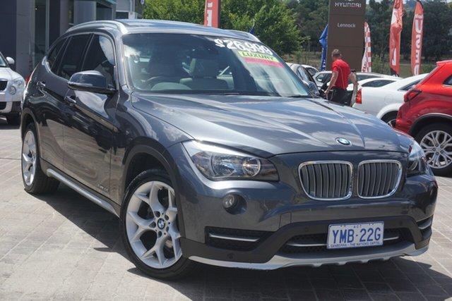 Used BMW X1 E84 MY0714 sDrive18d Phillip, 2015 BMW X1 E84 MY0714 sDrive18d Grey 8 Speed Sports Automatic Wagon