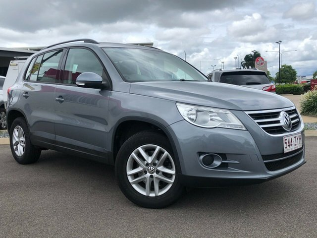 Used Volkswagen Tiguan 5N MY09 125TSI 4MOTION Garbutt, 2009 Volkswagen Tiguan 5N MY09 125TSI 4MOTION Grey 6 Speed Sports Automatic Wagon
