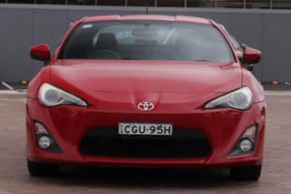 2012 Toyota 86 ZN6 GTS Fuji Red 6 Speed Sports Automatic Coupe