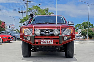 2012 Mazda BT-50 UP0YF1 XTR Red 6 Speed Sports Automatic Utility.