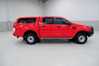 2017 Ford Ranger PX MkII XL Hi-Rider Red 6 Speed Sports Automatic Utility