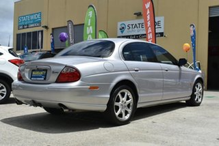 2002 Jaguar S-Type V6 SE Silver 5 Speed Automatic Sedan