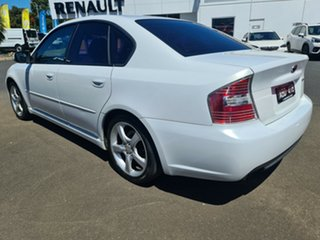2006 Subaru Liberty B4 MY06 3.0R AWD White 5 Speed Sports Automatic Sedan