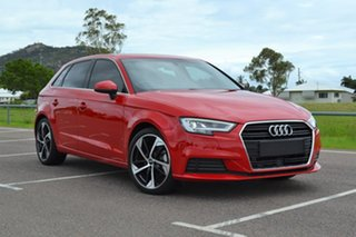2018 Audi A3 8V MY19 35 TFSI Sportback S Tronic Red 7 Speed Sports Automatic Dual Clutch Hatchback.