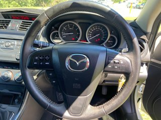 2012 Mazda 6 GH1052 MY12 Touring White 6 Speed Manual Hatchback