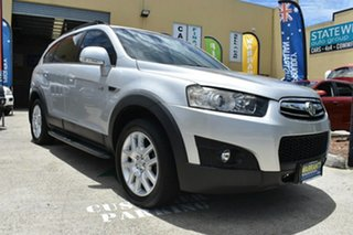 2012 Holden Captiva CG Series II 7 CX (4x4) Silver 6 Speed Automatic Wagon