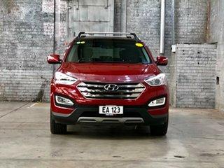 2013 Hyundai Santa Fe DM MY13 Highlander Maroon 6 Speed Sports Automatic Wagon.