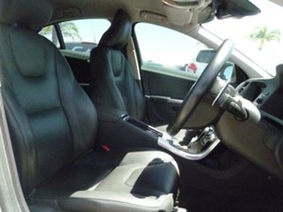 2015 Volvo S60 F Series MY15 T4 PwrShift Luxury White 6 Speed Sports Automatic Dual Clutch Sedan