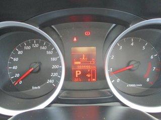 2010 Mitsubishi Lancer CJ MY10 Activ White 6 Speed CVT Auto Sequential Sedan