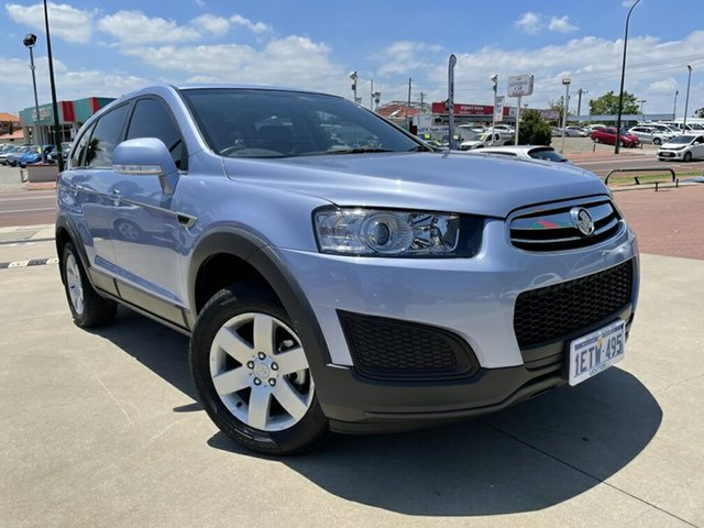 Used Holden Captiva CG MY14 7 LS Victoria Park, 2014 Holden Captiva CG MY14 7 LS Blue 6 Speed Sports Automatic Wagon