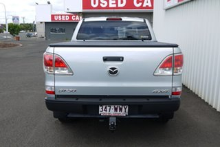2015 Mazda BT-50 UP0YF1 XT Silver 6 Speed Manual Utility