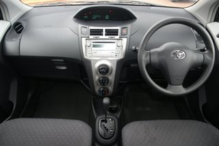 2010 Toyota Yaris NCP90R MY10 YR Grey 4 Speed Automatic Hatchback