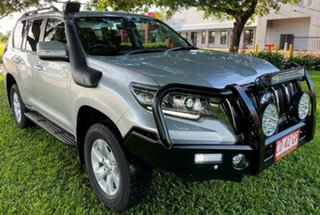 2018 Toyota Landcruiser Prado GDJ150R GXL Silver 6 Speed Sports Automatic Wagon.