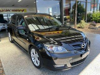 2007 Mazda 3 BK MY06 Upgrade SP23 Black 5 Speed Auto Activematic Hatchback.