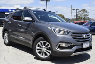 2016 Hyundai Santa Fe DM3 MY17 Elite Grey 6 Speed Sports Automatic Wagon.