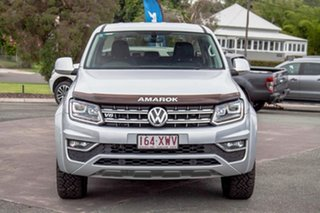 2017 Volkswagen Amarok 2H MY17 TDI550 4MOTION Perm Ultimate Silver 8 Speed Automatic Utility.