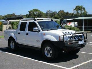 2009 Nissan Navara D22 Turbo ST-R White Manual CREWCAB UTILITY.
