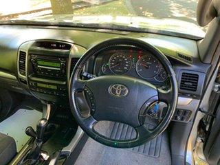 2009 Toyota Landcruiser Prado KDJ120R GX Silver 5 Speed Automatic Wagon