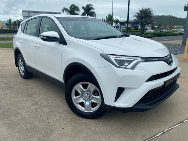 Used Toyota RAV4 ZSA42R GX 2WD Townsville, 2017 Toyota RAV4 ZSA42R GX 2WD White 7 Speed Constant Variable Wagon