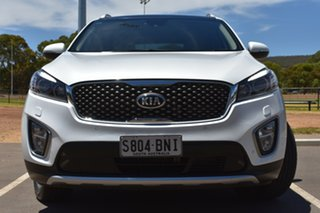 2015 Kia Sorento UM MY15 Platinum AWD White 6 Speed Sports Automatic Wagon.