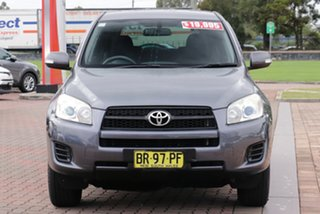 2012 Toyota RAV4 ACA38R MY12 CV 4x2 Grey 4 Speed Automatic SUV