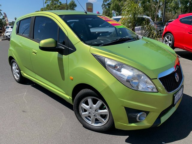 Used Holden Barina Spark MJ MY11 CD Bunbury, 2011 Holden Barina Spark MJ MY11 CD Green 5 Speed Manual Hatchback
